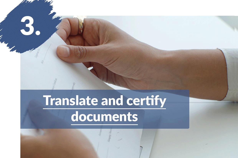 Dokumente übersetzen & beglaubigen lassen