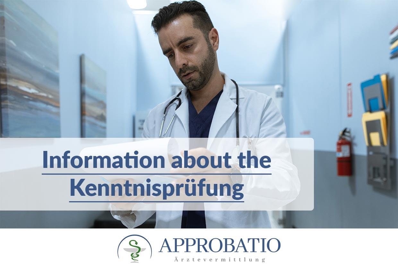 Kenntnisprüfung for doctors
