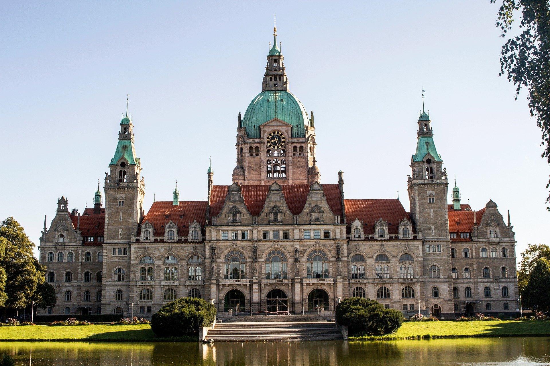 75 Jahre Niedersachsen - Rathaus Hannover