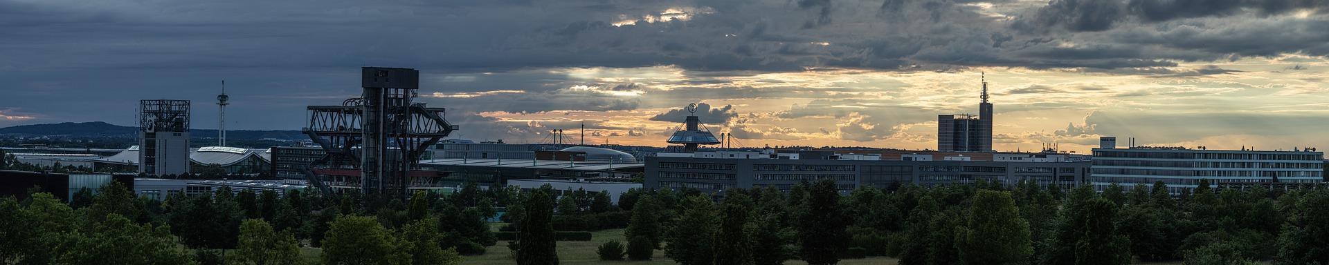 75 Jahre Niedersachsen - Skyline Hannover