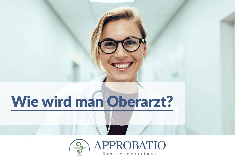 Oberarzt werden